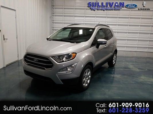 Ford Dealerships In Mississippi >> 2019 Ford Ecosport Se